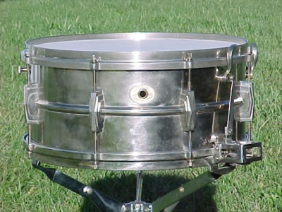1936 Silver Anniversary Ludwig Snare Drum