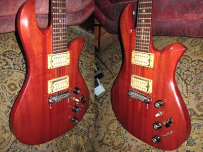 BC Rico Eagle All mahogany