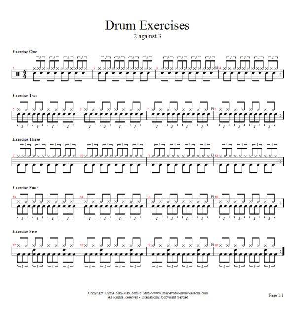 Drum u00bb Easy Drum Tabs - Music Sheets, Tablature, Chords and Lyrics