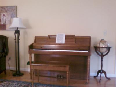 1972 Wurlitzer console piano