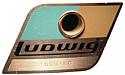 ludwig drum badge 1969