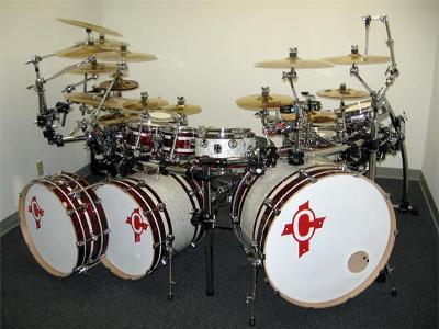 tandem bass drums