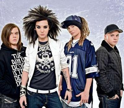 Georg, Bill, Tom, Gustav