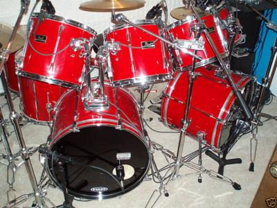 Early 90's Pearl Export Drum Kit